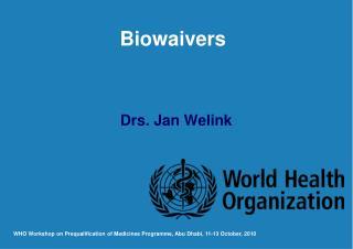 Drs. Jan Welink