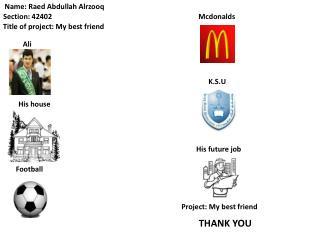 Name: Raed Abdullah Alrzooq