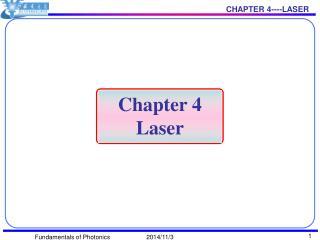 Chapter 4 Laser