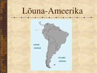 Lõuna-Ameerika