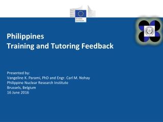 Philippines Training and Tutoring Feedback