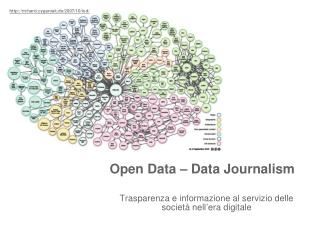 Open Data – Data Journalism