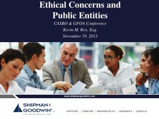 Ethical Concerns and Public Entities