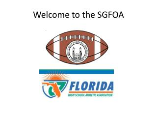 Welcome to the SGFOA