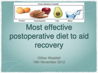 Most effective postoperative diet to aid recovery