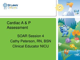 Cardiac A & P  Assessment