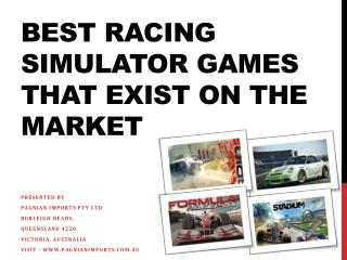 Best Racing Simulator Games that Exist on the Market