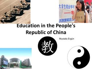 Education in the People's Republic of China