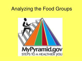 Analyzing the Food Groups
