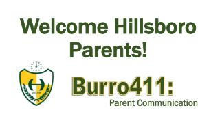 Welcome Hillsboro Parents!