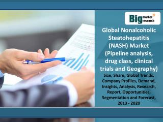 Global Nonalcoholic Steatohepatitis (NASH) Market 2013-2020