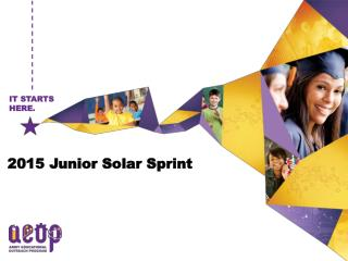 2015 Junior Solar Sprint