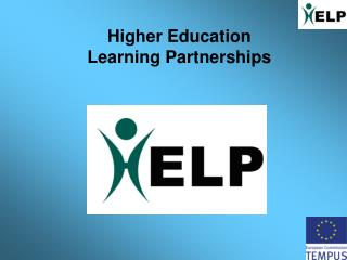Higher Education  Learning Partnerships