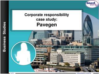 Corporate responsibility case study: Pavegen