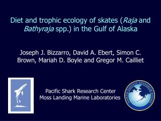 Diet and trophic ecology of skates ( Raja  and  Bathyraja  spp.) in the Gulf of Alaska