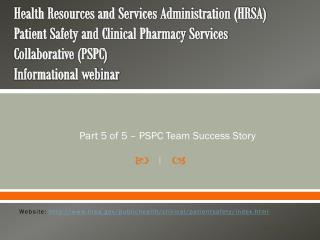 Part  5  of 5 – PSPC Team Success Story