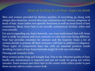 highlights for asian hair