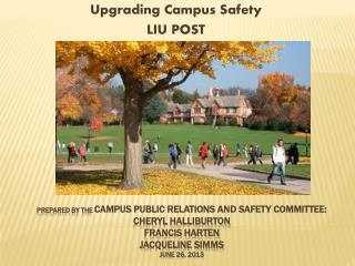 Upgrading Campus Safety  LIU POST