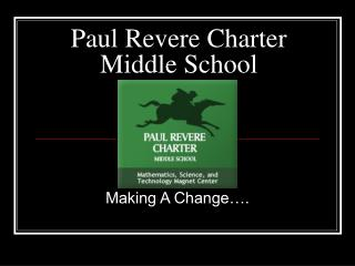 Paul Revere Charter Middle School