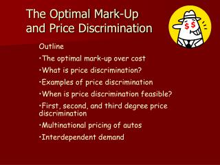 The Optimal Mark-Up and Price Discrimination