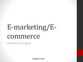 E-marketing/E-commerce