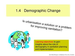 1.4 Demographic Change