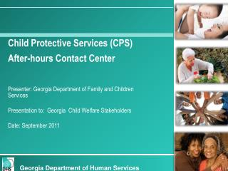 Child Protective Services (CPS) After-hours Contact Center