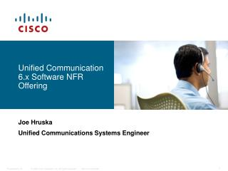 Unified Communication 6.x Software NFR Offering