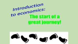 Introduction  to economics: