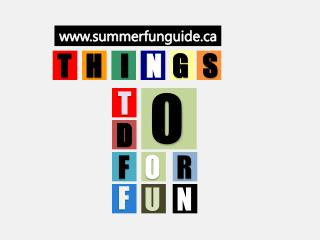 Things To Do For Fun In Weekend