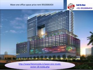 wave one office space price rent 9910006454