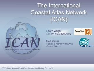 The International Coastal Atlas Network (ICAN)