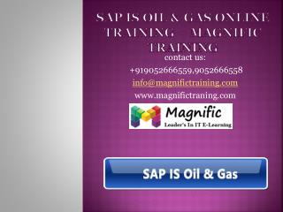sap oil and gas online training magnific