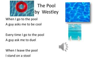 The Pool by   Westley