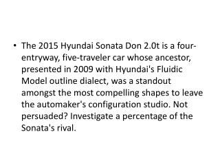 2015 hyundai sonata review and price comparison to other cars