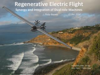Regenerative Electric Flight Synergy and Integration of Dual-role Machines