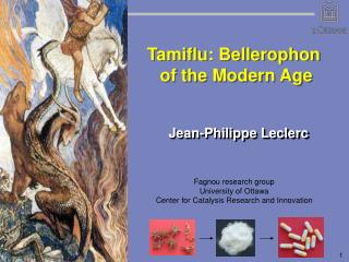 Tamiflu: Bellerophon  of the Modern Age