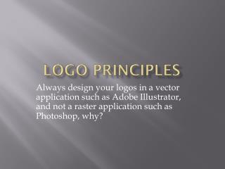 Logo Principles