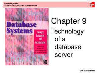 Chapter 9 Technology of a database server
