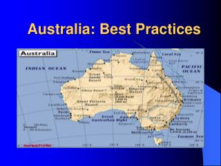 Australia: Best Practices