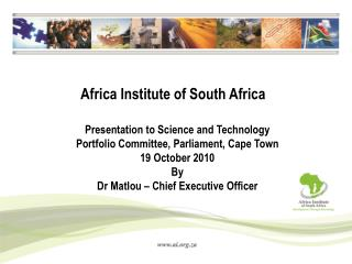 Africa Institute of South Africa