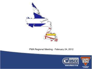 PMA Regional Meeting - February 24, 2012