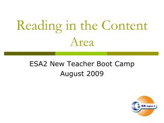 Reading in the Content Area
