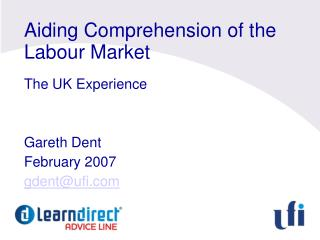 Aiding Comprehension of the Labour Market