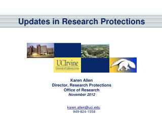 Updates in Research Protections
