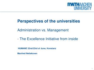 Strategy development  at universities -  Why and how?