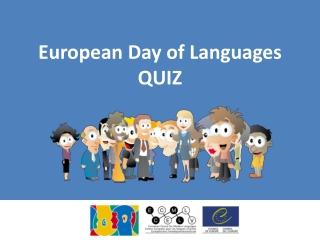 European Day of Languages QUIZ