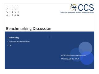 Benchmarking Discussion