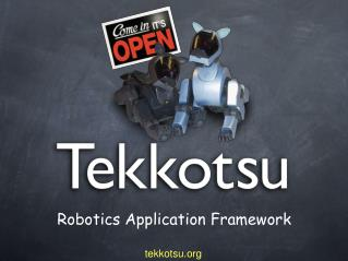 Robotics Application Framework