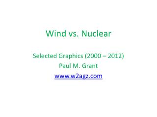 Wind vs. Nuclear